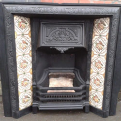image of stunning fireplace that's been paint stripped